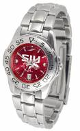 Southern Illinois Salukis Sport Steel AnoChrome Women's Watch