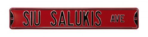 Southern Illinois Salukis Street Sign