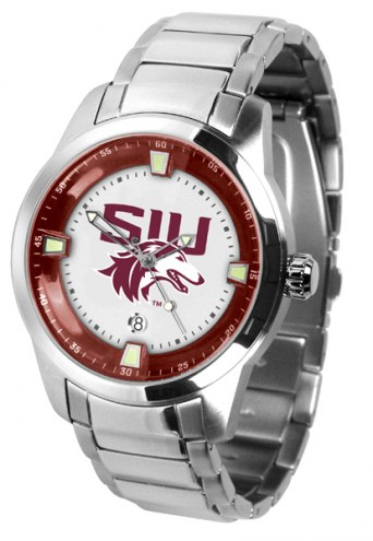 Southern Illinois Salukis Titan Steel Men's Watch