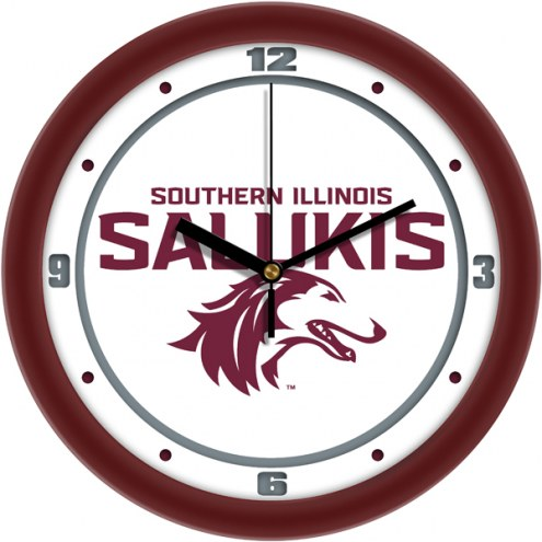 Southern Illinois Salukis Traditional Wall Clock