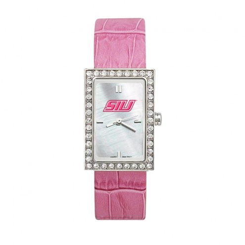 Southern Illinois Salukis Women's Starlette Leather Watch