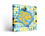 Southern Jaguars Fight Song Canvas Wall Art