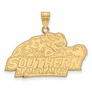 Southern Jaguars Sterling Silver Gold Plated Large Pendant