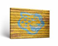 Southern Jaguars Weathered Canvas Wall Art