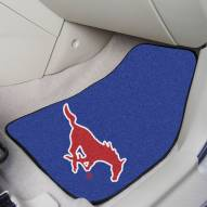 Southern Methodist Mustangs 2-Piece Carpet Car Mats