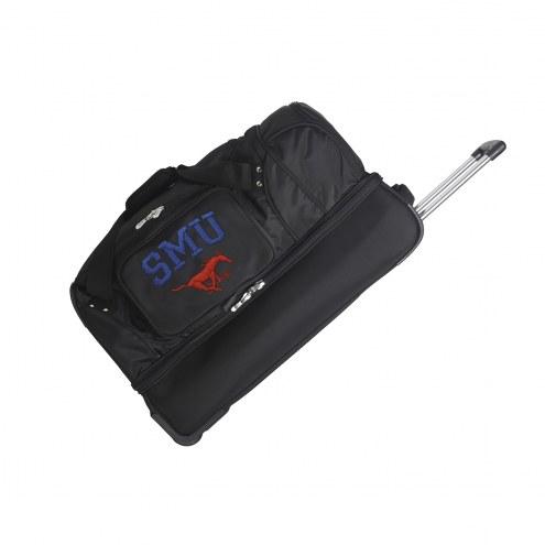 "Southern Methodist Mustangs 27"" Drop Bottom Wheeled Duffle Bag"
