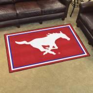 Southern Methodist Mustangs 4' x 6' Area Rug