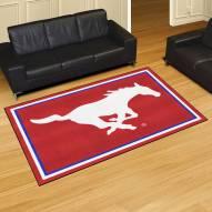 Southern Methodist Mustangs 5' x 8' Area Rug