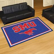 Southern Methodist Mustangs 5' x 8' Area Rug