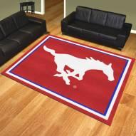 Southern Methodist Mustangs 8' x 10' Area Rug