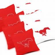 Southern Methodist Mustangs Cornhole Bags