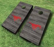 Southern Methodist Mustangs Cornhole Board Set