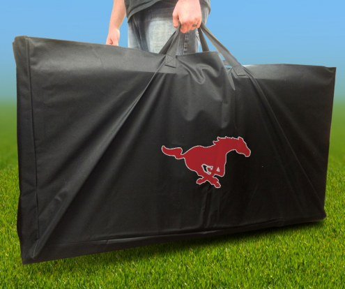 Southern Methodist Mustangs Cornhole Carry Case