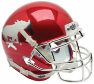Southern Methodist Mustangs Alternate 1 Schutt Mini Football Helmet
