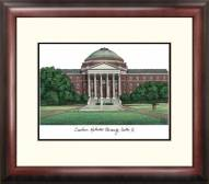 Southern Methodist Mustangs Alumnus Framed Lithograph