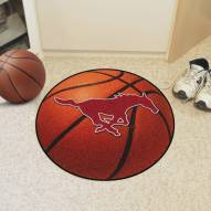 Southern Methodist Mustangs Basketball Mat