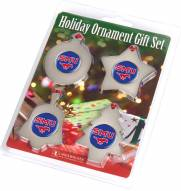 Southern Methodist Mustangs Christmas Ornament Gift Set