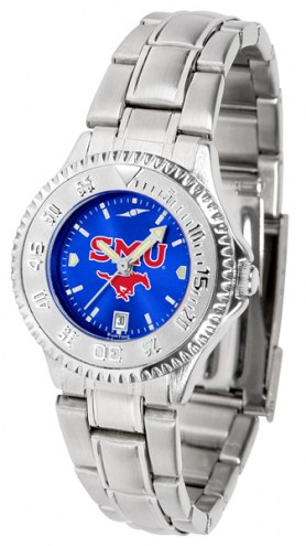 Southern Methodist Mustangs Competitor Steel AnoChrome Women's Watch