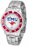 Southern Methodist Mustangs Competitor Steel Men's Watch