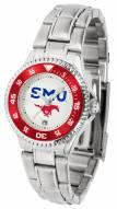 Southern Methodist Mustangs Competitor Steel Women's Watch