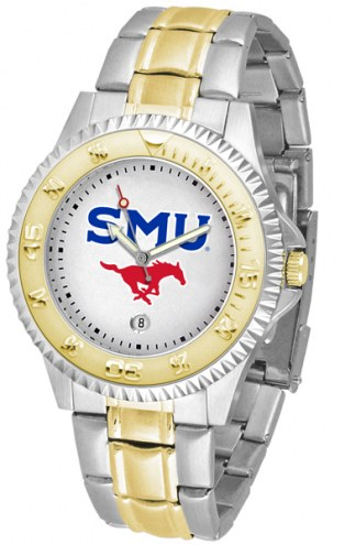 Southern Methodist Mustangs Competitor Two-Tone Men's Watch