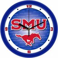 Southern Methodist Mustangs Dimension Wall Clock