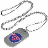 Southern Methodist Mustangs Dog Tag