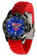 Southern Methodist Mustangs FantomSport AC AnoChrome Men's Watch