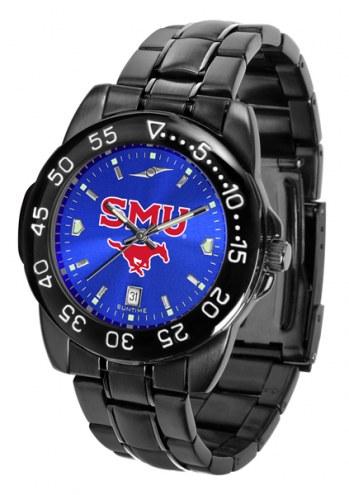 Southern Methodist Mustangs FantomSport AnoChrome Men's Watch
