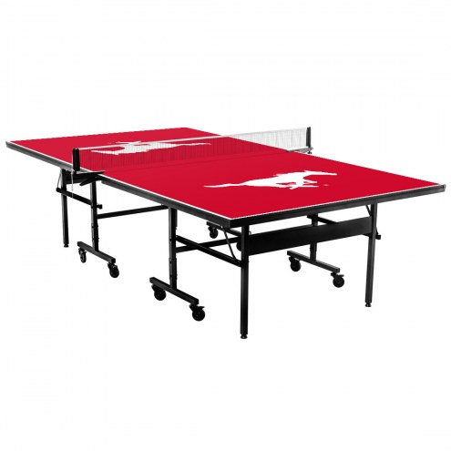 Southern Methodist Mustangs Indoor Ping Pong Table