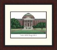 Southern Methodist Mustangs Legacy Alumnus Framed Lithograph