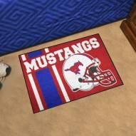 Southern Methodist Mustangs NCAA Starter Rug