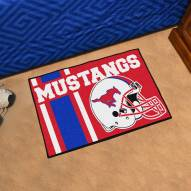 Southern Methodist Mustangs NCAA Starter Rug