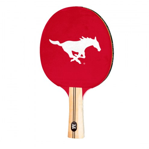 Southern Methodist Mustangs Ping Pong Paddle