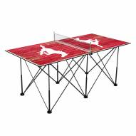 Southern Methodist Mustangs Pop Up 6' Ping Pong Table