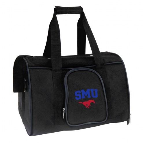 Southern Methodist Mustangs Premium Pet Carrier Bag