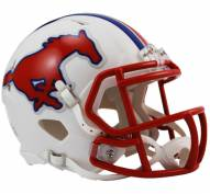 Southern Methodist Mustangs Riddell Speed Mini Collectible Football Helmet