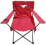 Southern Methodist Mustangs Rivalry Folding Chair