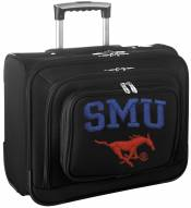 Southern Methodist Mustangs Rolling Laptop Overnighter Bag