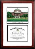 Southern Methodist Mustangs Scholar Diploma Frame