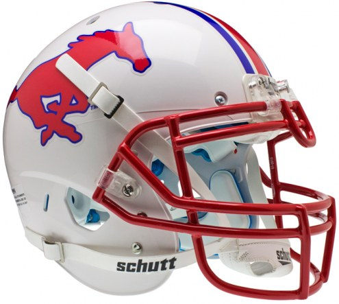 Southern Methodist Mustangs Schutt XP Authentic Full Size Football Helmet