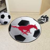 Southern Methodist Mustangs Soccer Ball Mat