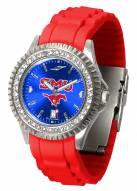 Southern Methodist Mustangs Sparkle Women's Watch