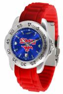 Southern Methodist Mustangs Sport AC AnoChrome Men's Watch