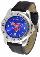 Southern Methodist Mustangs Sport AnoChrome Men's Watch