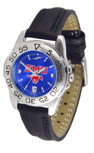 Southern Methodist Mustangs Sport AnoChrome Women's Watch