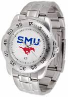 Southern Methodist Mustangs Sport Steel Men's Watch