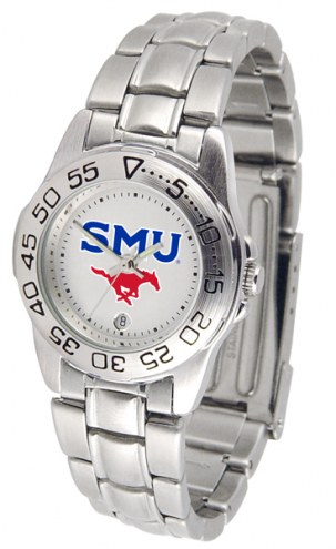Southern Methodist Mustangs Sport Steel Women's Watch