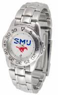 Southern Methodist Mustangs Sport Steel Women's Watch