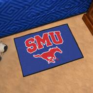 Southern Methodist Mustangs Starter Rug